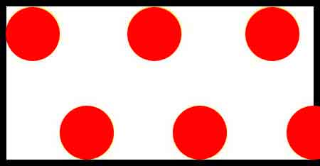 FLG PDWR - Red/White Polka Dot Flagging